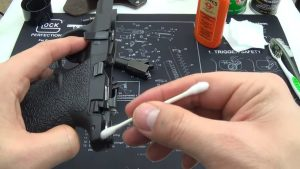 Gun cleaning process